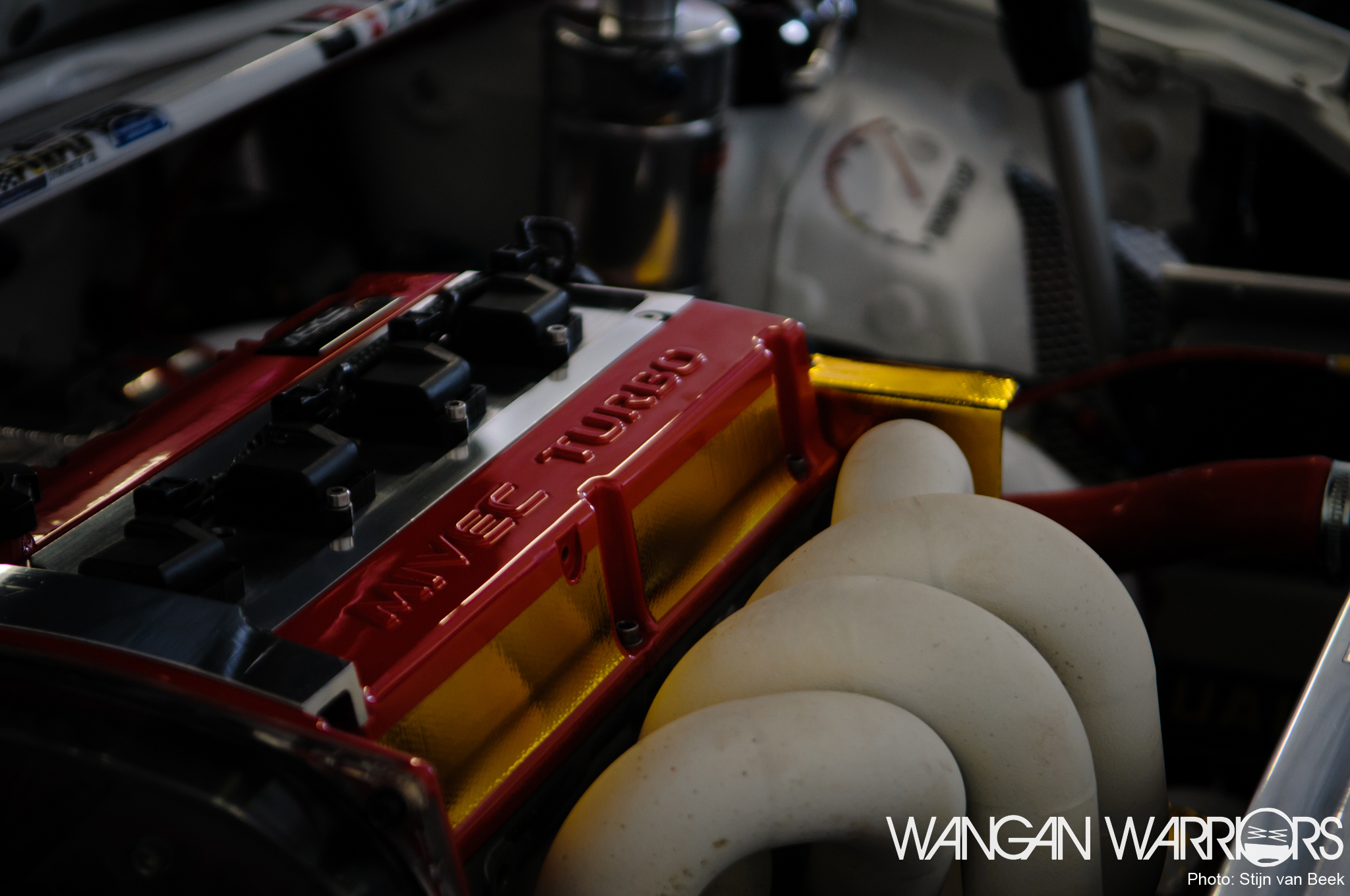 Not the prettiest Evo you've seen - Wangan Warriors